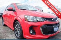 2017 Chevrolet Sonic LT Manual