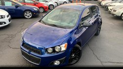 2014 Chevrolet Sonic LT Manual