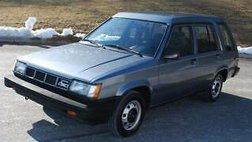 1987 Toyota Tercel Deluxe