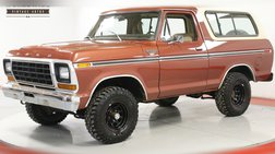 1979 Ford Bronco XLT 400 V8  REMOVABLE TOP PS PB
