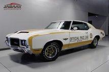 1972 Oldsmobile Cutlass Pace Car
