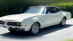 1969 Oldsmobile Cutlass Supreme 2dr Coupe Convertible