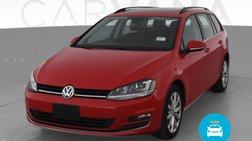 2015 Volkswagen Golf SportWagen TSI SE Wagon 4D