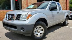 2007 Nissan Frontier 2WD King Cab Manual XE