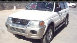 2002 Mitsubishi Montero Sport XLS