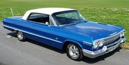 1963 Chevrolet Impala SS, 2 Door Hardtop, 4 Speed MT