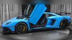 2017 Lamborghini Aventador LP750-4 Coupe RARE Blue Cepheus! Carbon Fiber! Onl