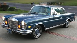 1971 Mercedes-Benz coupe, automatic sun roof