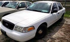2010 Ford Crown Victoria Police Interceptor