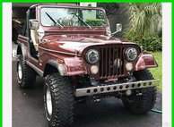 1976 Jeep 7  $25K in Custom Work 14,500 Original Miles