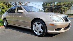 2003 Mercedes-Benz S-Class S 500