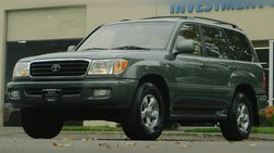2002 Toyota Land Cruiser Base