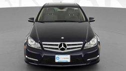 2013 Mercedes-Benz C-Class C 300 4MATIC Sport Sedan 4D