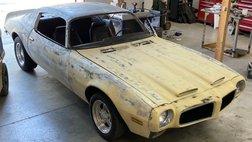1970 Pontiac Firebird white