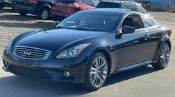 2013 Infiniti G37 Coupe 2dr Sport 6MT RWD