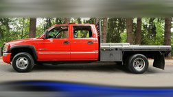 2007 GMC Sierra 3500 SLT 4X4 Crew Cab 4X4 Dually V8 8.1L FLAT BED