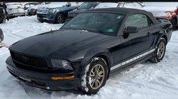2005 Ford Mustang Premium Convertible 2D