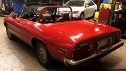 1976 Alfa Romeo Spider 2dr Convertible Graduate