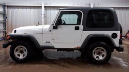 2005 Jeep Wrangler 2dr Sport Right Hand Drive