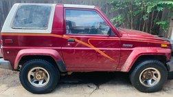 1990 Daihatsu Rocky SE Hard Top
