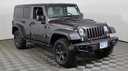 2018 Jeep Wrangler Unlimited Rubicon Recon