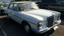 1970 Mercedes-Benz clean title, natural gas engine