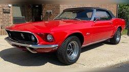 1969 Ford Mustang Convertible - Cali Car