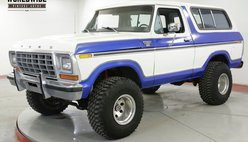 1978 Ford Bronco TWO TONE 4X4 REMOVABLE TOP V8 AUTO MUST SEE