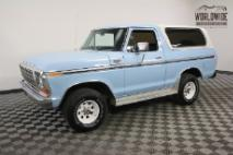 1979 Ford Bronco RANGER XLT TIME CAPSULE COLLECTOR RARE