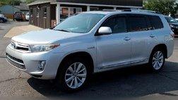 2012 Toyota Highlander Hybrid Limited
