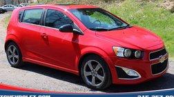 2016 Chevrolet Sonic RS Auto