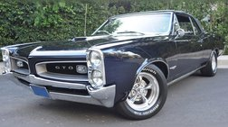 1966 Pontiac GTO Matching Numbers,