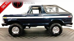 1979 Ford Bronco AC 4X4 RANGER!