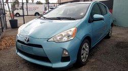 2012 Toyota Prius c Four (Natl)