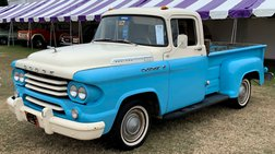 1958 Dodge 1958 DODGE D100 1/2 TON PICKUP