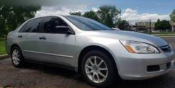 2007 Honda Accord Value Package