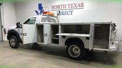 2016 Ford Super Duty F-550 XL Diesel Knapheide Service Body Utility Bed Mech