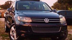 2012 Volkswagen Touareg VR6 Executive