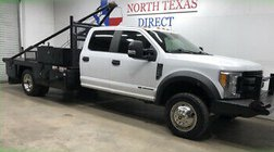 2017 Ford Super Duty F-550 XL 4x4 Diesel Gin Pole Flat bed Bluetooth Winch 6