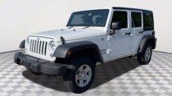 2018 Jeep Wrangler Unlimited Sport RHD