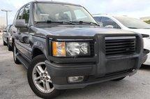 2002 Land Rover Range Rover 4.6 HSE