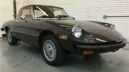 1979 Alfa Romeo Spider 44,000 miles Original