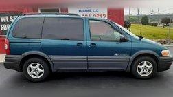 2002 Pontiac Montana Value
