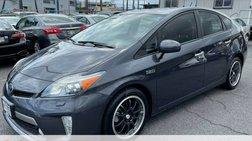 2012 Toyota Prius Plug-in Hybrid Advanced