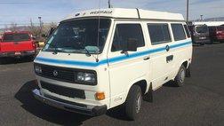 1987 Volkswagen Vanagon GL Camper