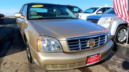 2005 Cadillac DeVille 4dr Sdn