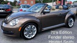 2013 Volkswagen Beetle 2.5L 50's Edition Convertible 2D