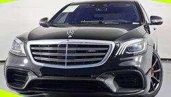 2019 Mercedes-Benz S-Class AMG S 63