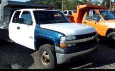 2001 Chevrolet Silverado 3500 Ext Cab 161.5