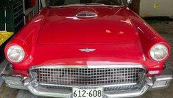 1957 Ford Thunderbird chrome